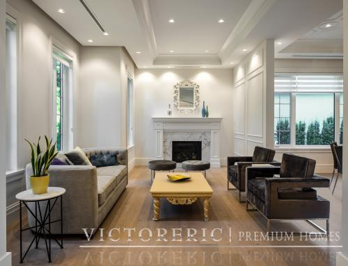 What makes a luxury living room stand out?